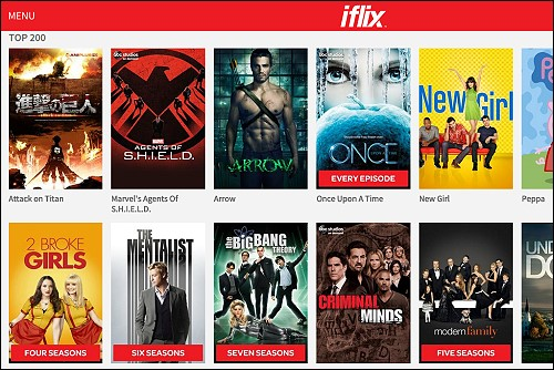 iFLIXSERVICE NOW AVAILABLE IN THAILAND