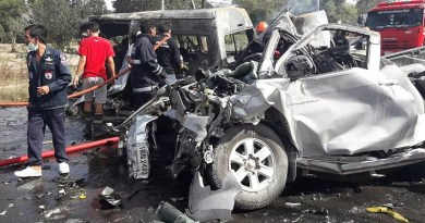 Full Road Accident Statistics for New Year 2017-2018 in Thailand