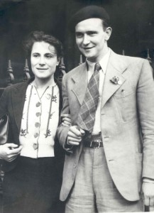 Jack & Evelyn Jones, October 1938