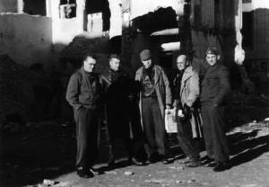 Senior British officers in Spain, in early 1937