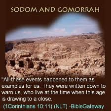 The United States Is Now SODOM AND GOMORRAH