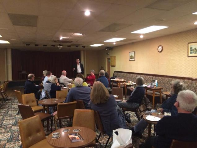 Chairing the Colne Valley Europe quiz