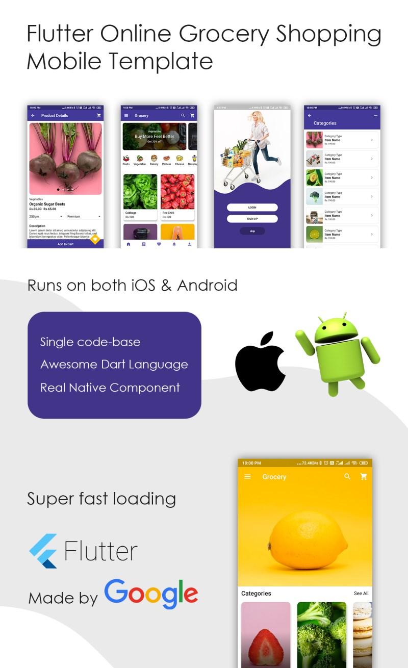 Flutter App E-Commerce Template - 3