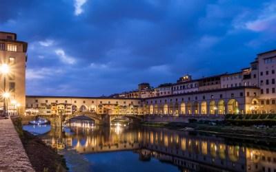 Vervlogen tijden uit Italie: Florence-by-night