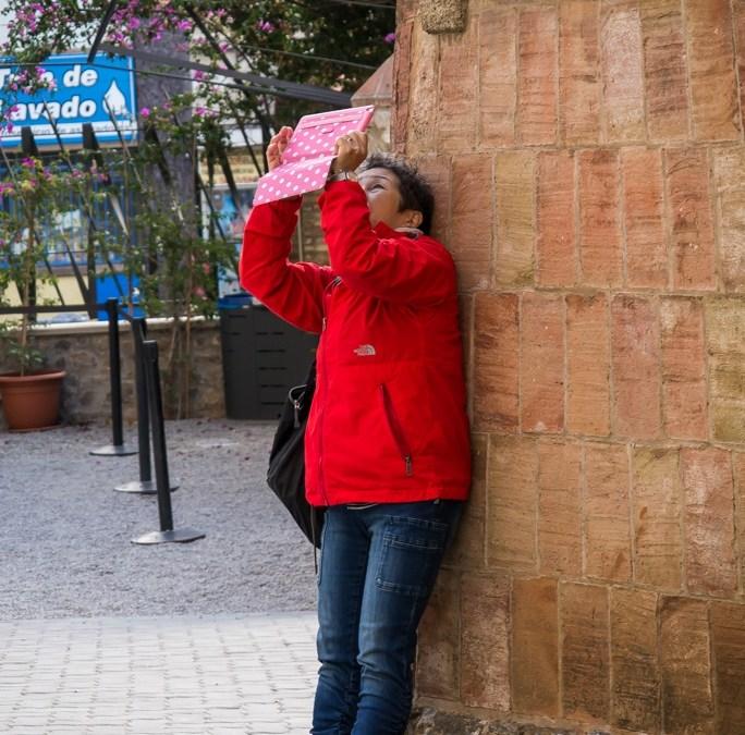 Fotoserie: waarom fotografeert men met tablets?