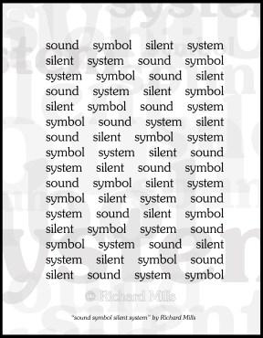 sound system silent symbol 7x9 © Border