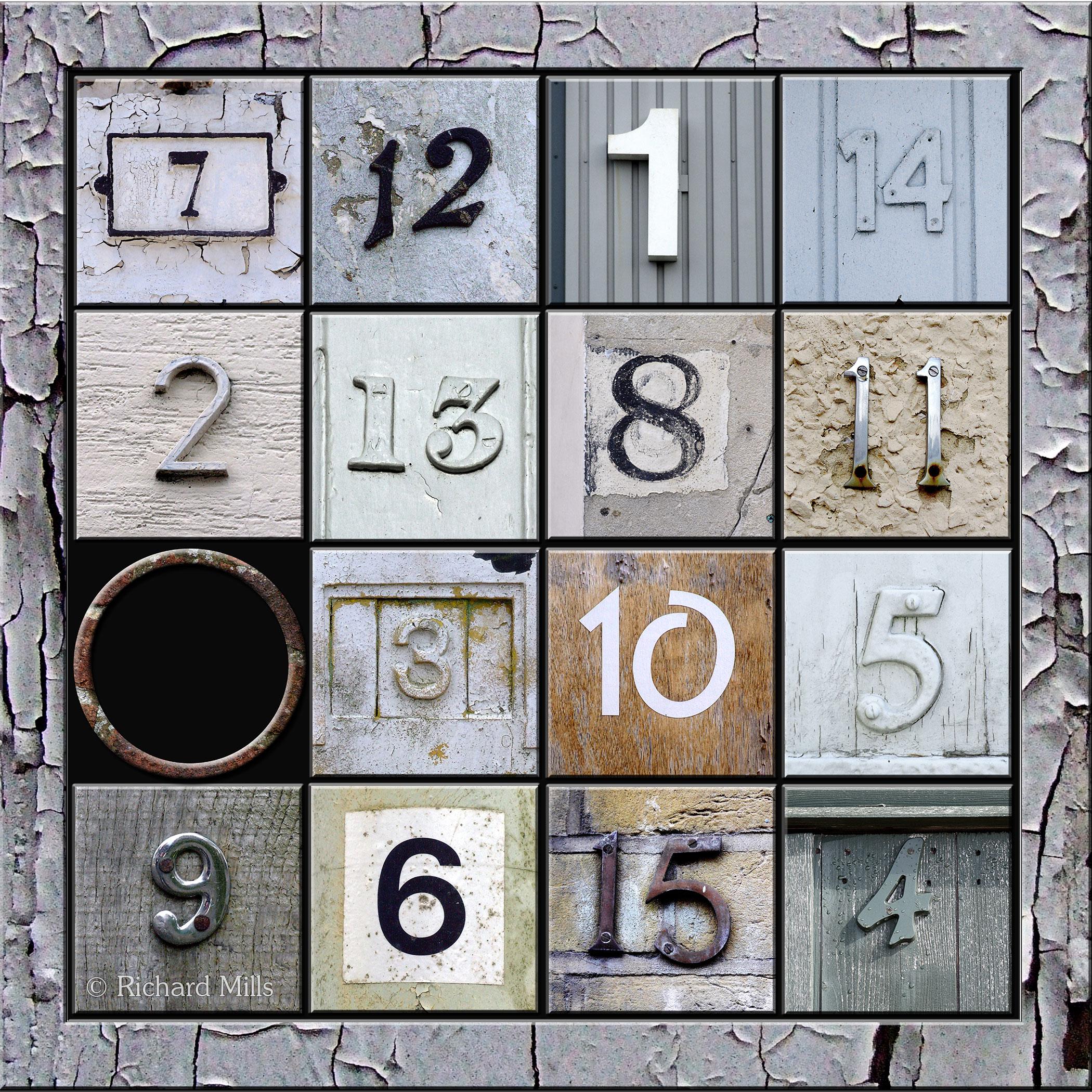 34 Magic Number Square