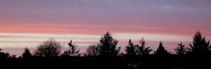 Evening sky Jan 27
