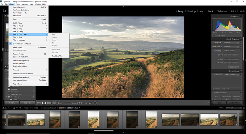 Archiving and Processing in Adobe Lightroom