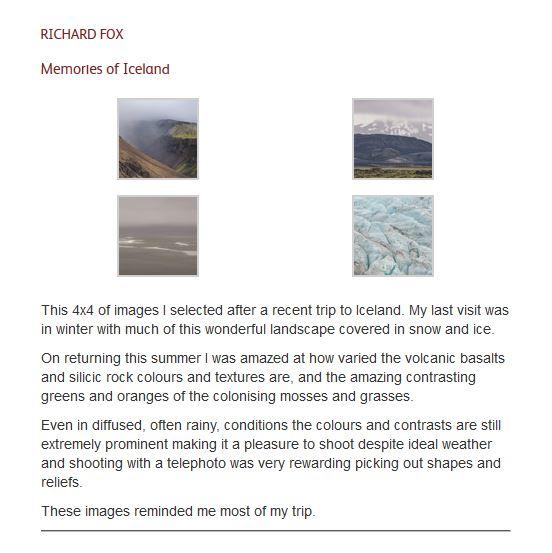 On Landscape 4x4 - Icelandic memories