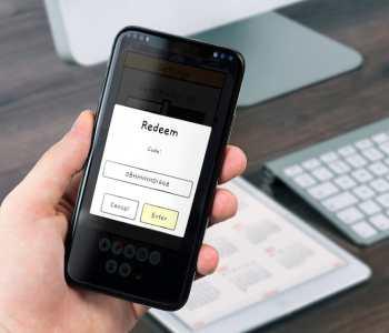 Laravel redeem code API on mobile app