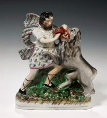 RELIGIOUS STAFFORDSHIRE FIGURES AT RICHARD GARDNER ANTIQUES