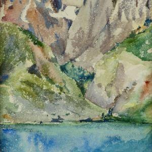 ROBERT WILLIAM PITE-WATERCOLOUR PAINTINGS-SWITZERLAND