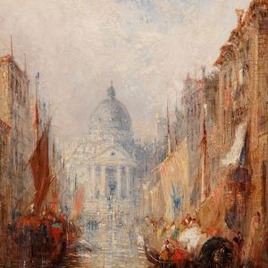 JANE VIVIAN-OIL PAINTING-VENICE