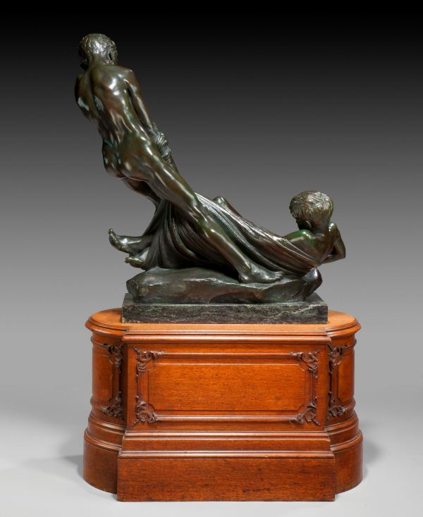 Erica-Lee-bronze-two-boys-playing-on-a-beach-antique-4281_1_4281