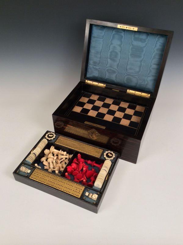 Games-box-coromandel-by-fisher-chess-backgammon-Staunton-antique-19th-century-5708_1_5708