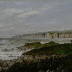 ISAAC WALTER JENNER OIL PAINTING ISLE OF WIGHT DORSET
