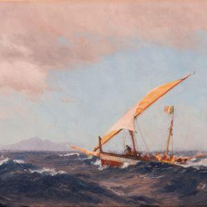 JOHN FRASER-OIL PAINTING-LA PALMA