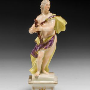 ANTIQUE MEISSEN PORCELAIN FIGURE OF A MUSE