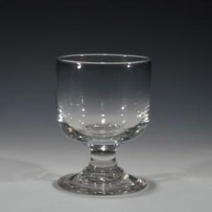 ANTIQUE GLASS RUMMER