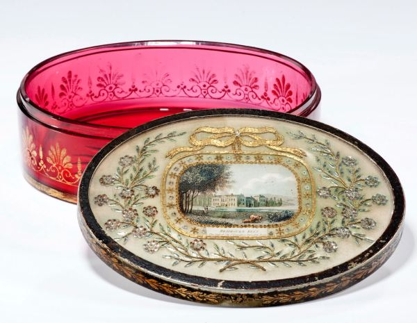 cranberry-glass-dressing-table-box-toleware-Bradbourn-Kent-oval-Regency-antique-1912_1_1912