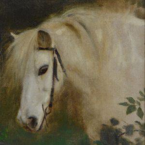 ARTHUR JOHN ELSLEY-OIL PAINTING-HORSE
