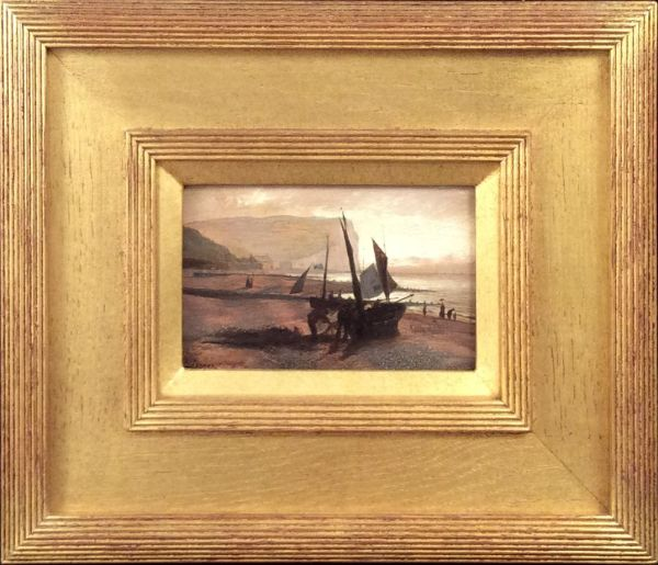 isaac-walter-jenner-oil-painting-Seaford-cliff-antique-IMG_1749_5765