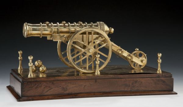 VINTAGE BRASS MODEL OF KIMS CANNON