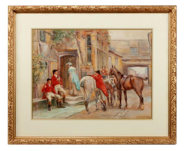 John-Sanderson-Sanderson-Wells-watercolour-hunting-horses-huntsmen-antique-4289_1_4289