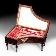 ANTIQUE PALAIS ROYAL SEWING BOX IN THE FORM OF A PIANO