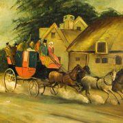 tray-papier-mache-antique-Regency-Lymington-Poole-mail-coach-5311_1_5311