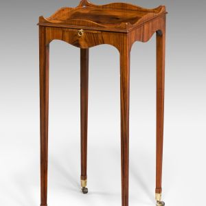 ANTIQUE GEORGE III GONCALO ALVES URN STAND