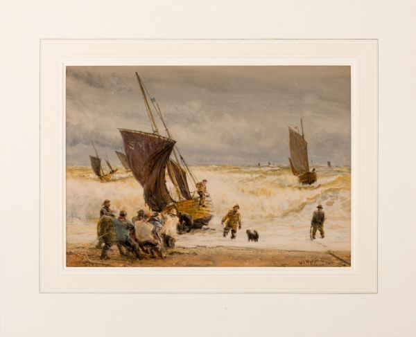 william-wyllie-watercolour-fishing-boats-sussex-5110_1_5110