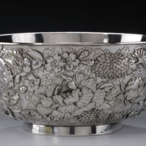 JAPANESE SILVER BOWL