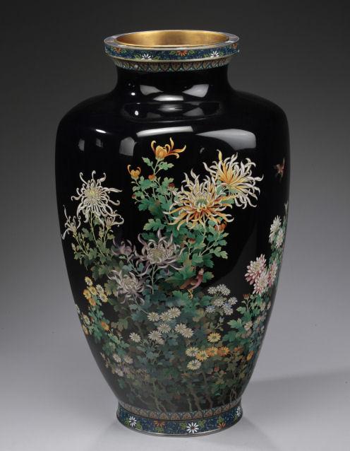 Small Antique Cloisonne Vase Antiques Us