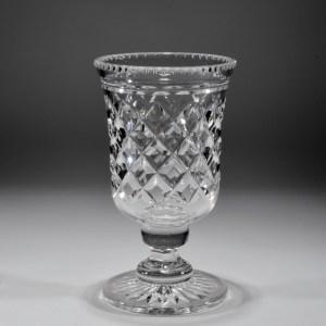 ANTIQUE CUT GLASS CELERY VASE