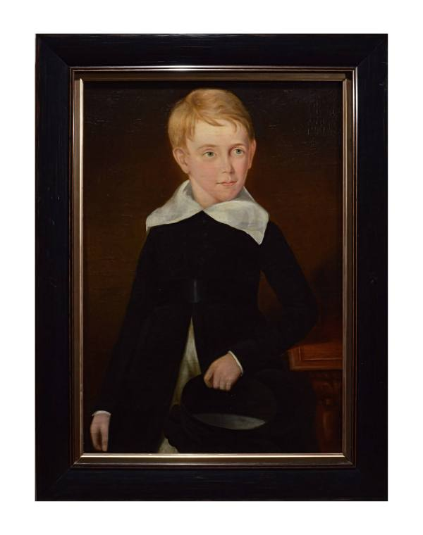 portrait-paintings-young-children-antique-DSC_9847C