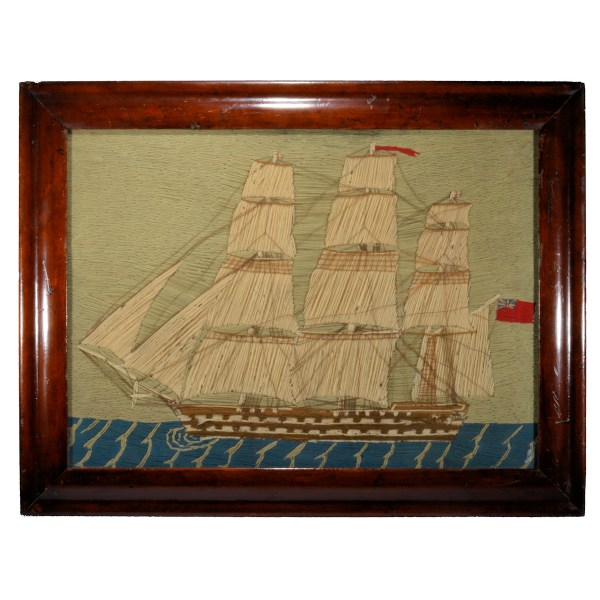 antique-sailors-woolwork-picture-warship-wooloie-DSC_0746