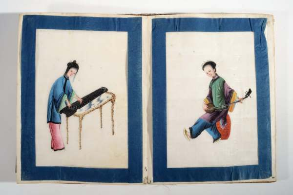 antique-chinese-watercolour-painting-men-women-musical-instruments-DSC_0826