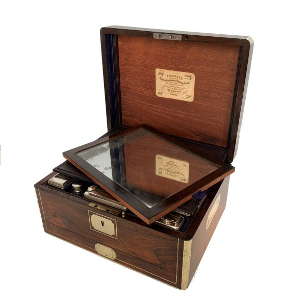 antique-ladies-dressing-case-rosewood-turtill-silver-tops-IMG_4219a