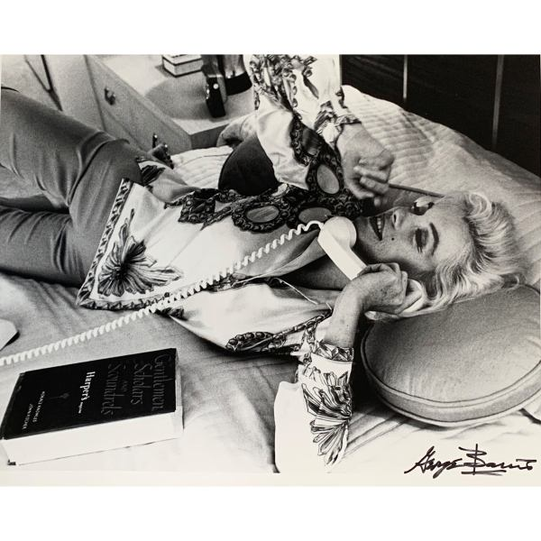 GEORGE BARRIS LIMITED EDTION PHOTOGRAPH OF MARILYN MONROE