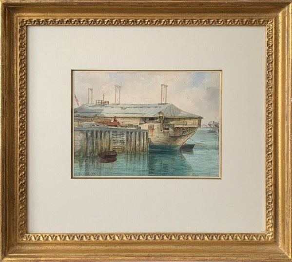 e-w-cooke-watercolour-painting-trincomalee-frigate-portsmouth-IMG_6072