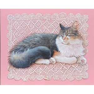 FIND LESLEY ANNE IVORY PAINTINGS OF CATS FOR SALE IN UK