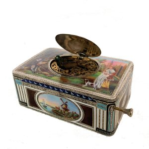ANTIQUE SINGING BIRD BOX KARL GRIESBAUM FOR SALE IN UK