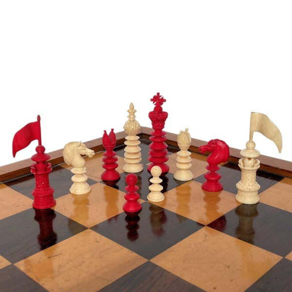 FIND ANTIQUE HASTILOW CHESS SET FOR SALE IN UK