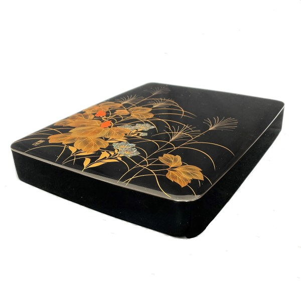FIND ANTIQUE JAPANESE LACQUER WRITING BOX FOR SALE IN UK