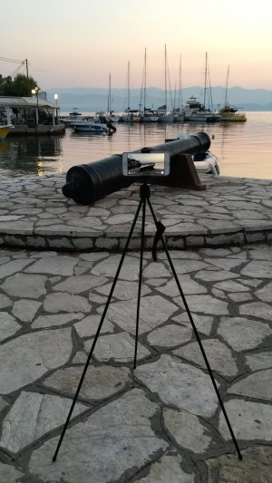 The Tarion Flip Pod set up for an early morning sunrise time lapse.