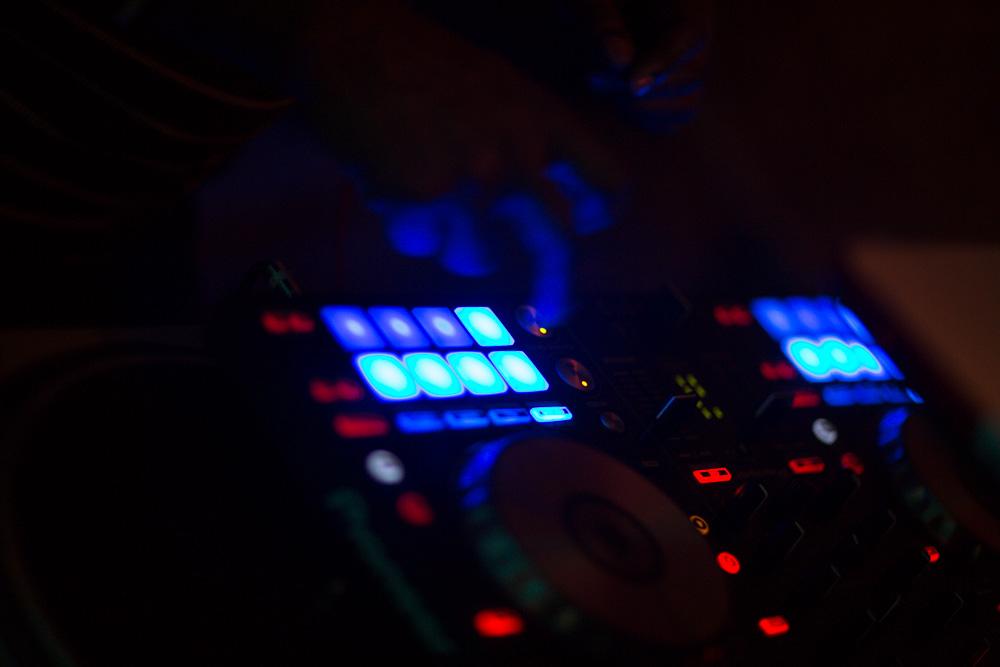 DJ Hardhittin Harry at Vodou Bar