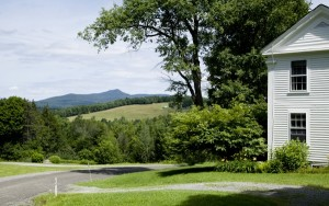Vermont - View of Haystack Mountain from Boyd Hill Road