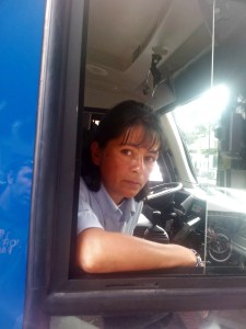 Say cheese! The unhelpful bus driver